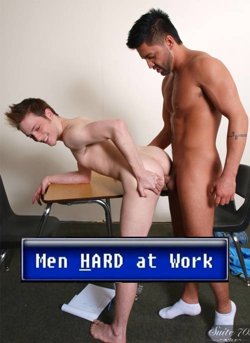 Dominic Pacifico & Jesse Jordan at MenHardAtWork