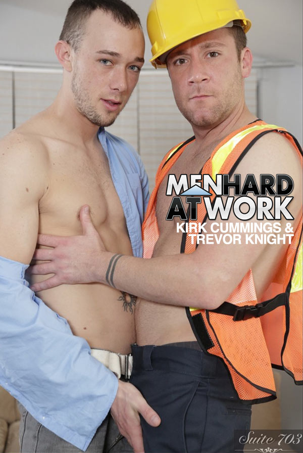 Kirk Cummings & Trevor Knight at MenHardAtWork