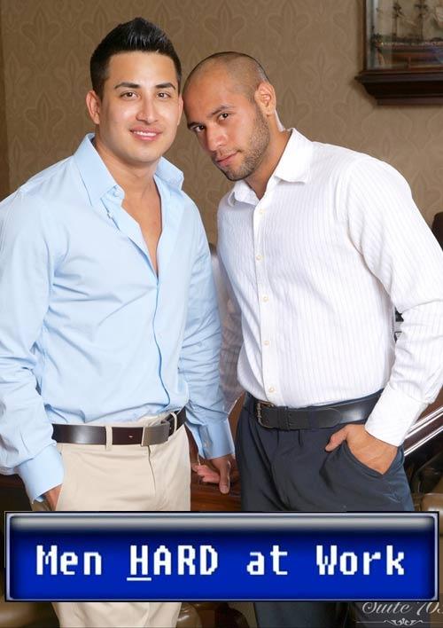 Hunter Vance & Leo Forte at MenHardAtWork
