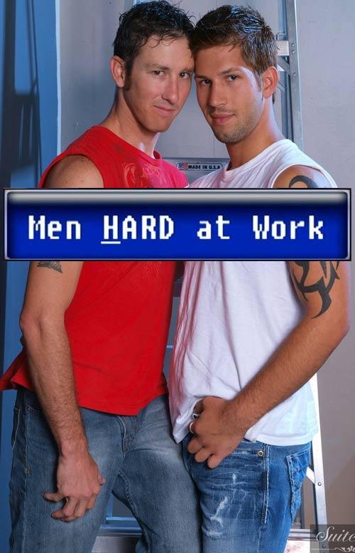 Danny Brooks & Jake Austin (Flip-Flop) at MenHardAtWork