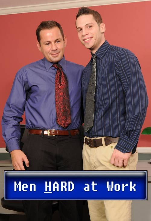 Finn Daniels & Kevin Cavallie at MenHardAtWork
