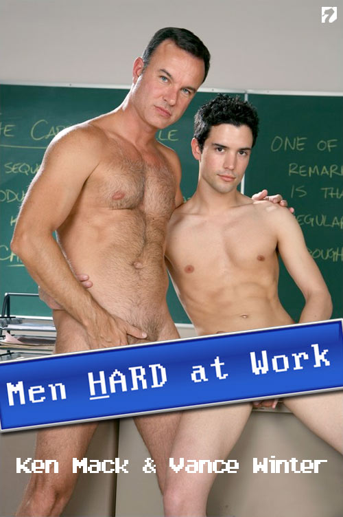 Ken Mack & Vance Winter at MenHardAtWork