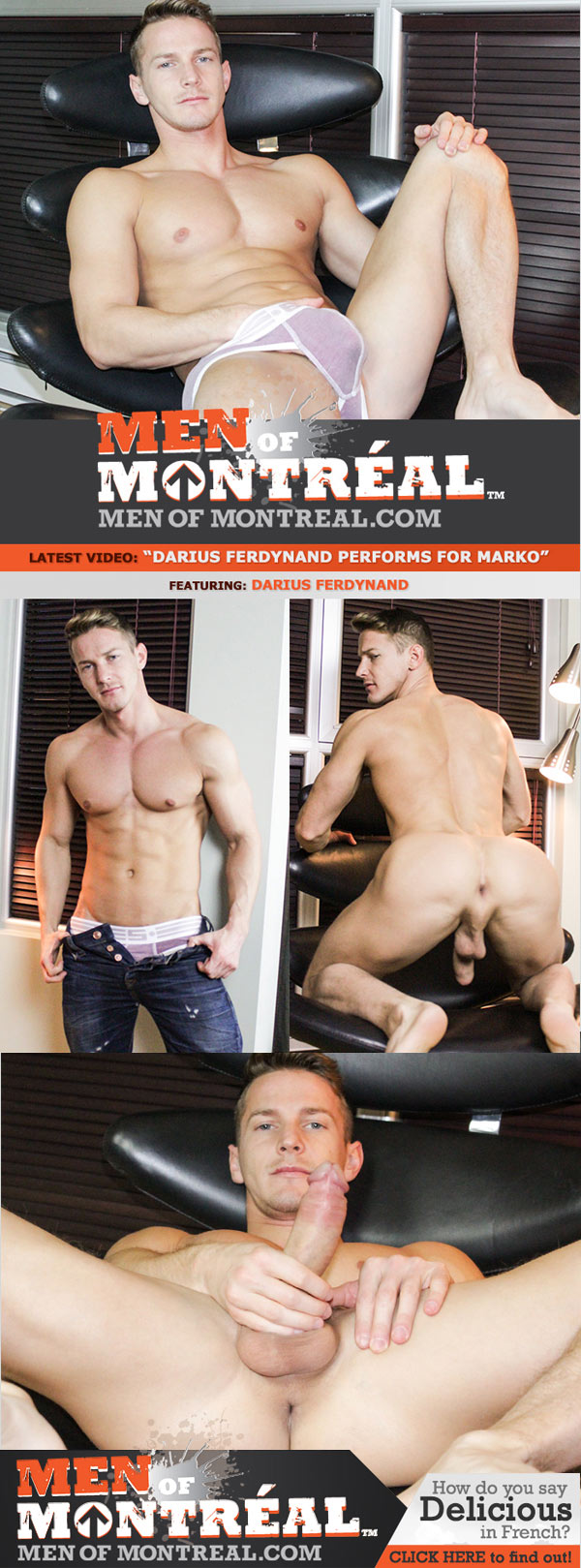 Darius Ferdynand Performs For Marko Lebeau at MenOfMontreal
