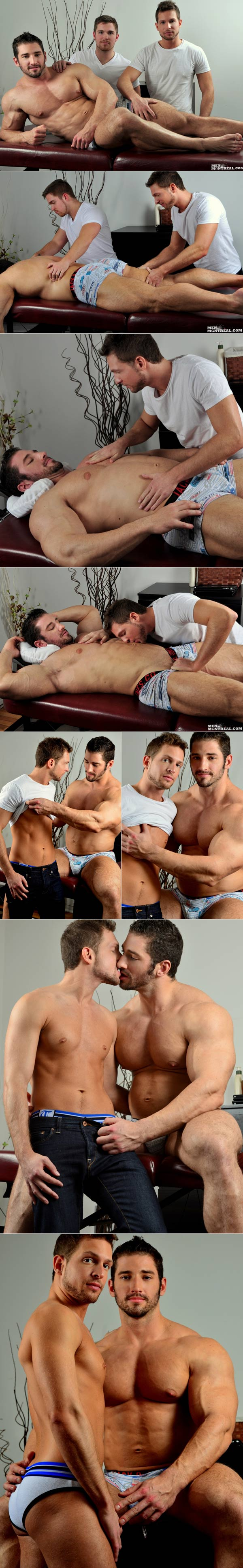 Worshipping Zeus (Christian Power & Hayden Colby) at MenOfMontreal