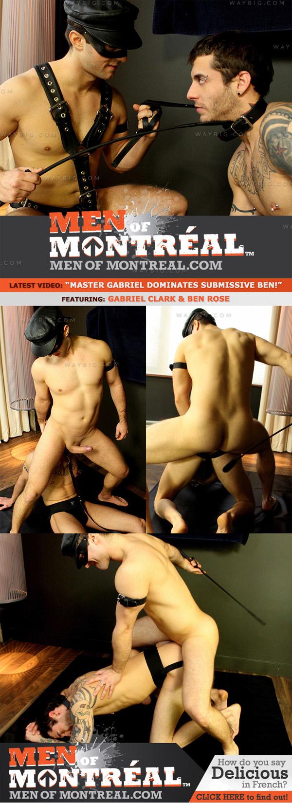 Gabriel Clark Dominates Ben Rose at MenOfMontreal