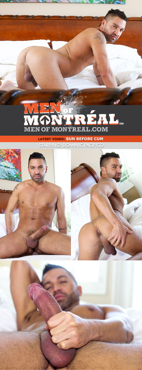 Sun Before Cum (Dominic Pacifico) at MenOfMontreal
