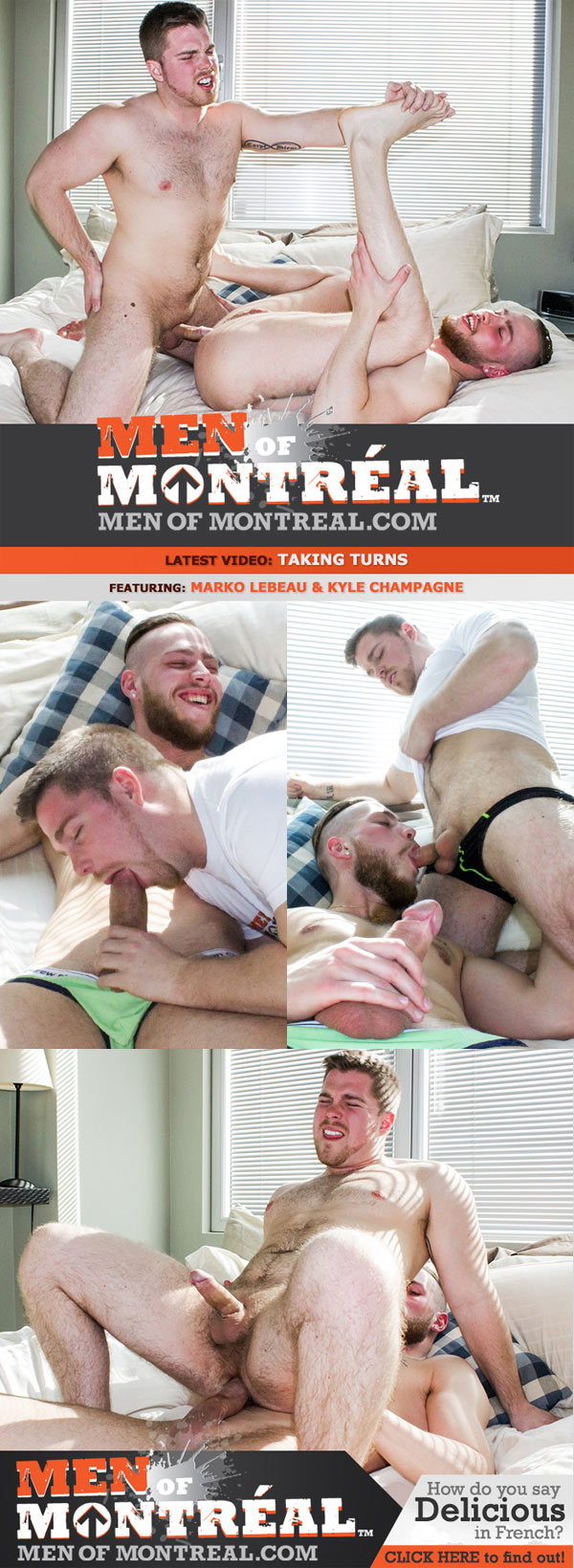 Taking Turns (Marko Lebeau & Kyle Champagne) at MenOfMontreal