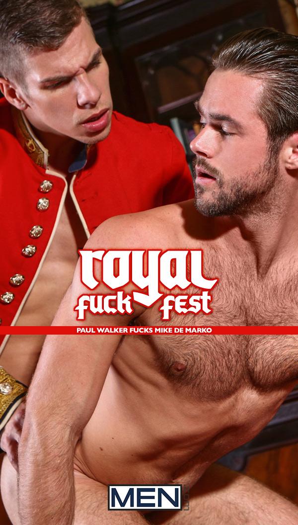 A Royal Fuckfest (Paul Walker Fucks Mike De Marko) (Part 2) at Men of UK