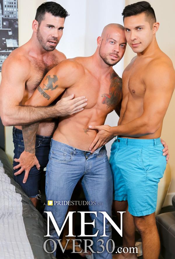 Sharing Done Right (Sean Duran, Billy Santoro & Seth Santoro) at MenOver30