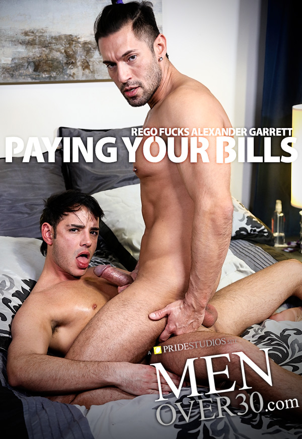 Paying Your Bills (Rego Fucks Alexander Garrett) at MenOver30.com