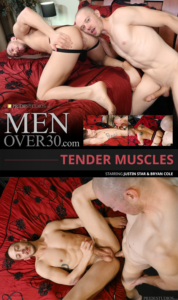 Tender Muscles (Bryan Cole & Justin Star) at MenOver30
