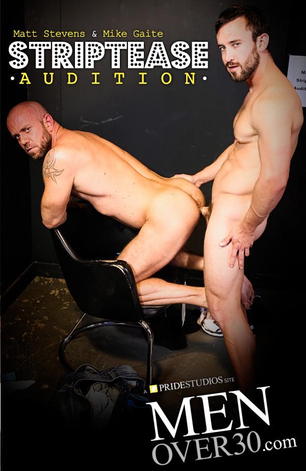 Striptease Audition (Mike Gaite Fucks Matt Stevens) at MenOver30