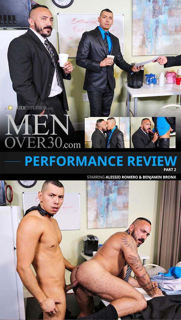 Performance Review Part 2 (Alessio Romero & Benjamin Bronx) at MenOver30