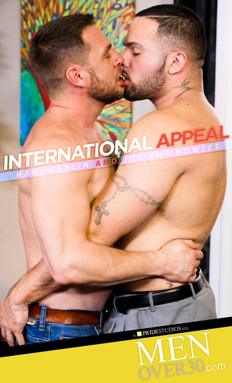 International Appeal (Hans Berlin and Julian Knowles Flip-Fuck) at MenOver30.com