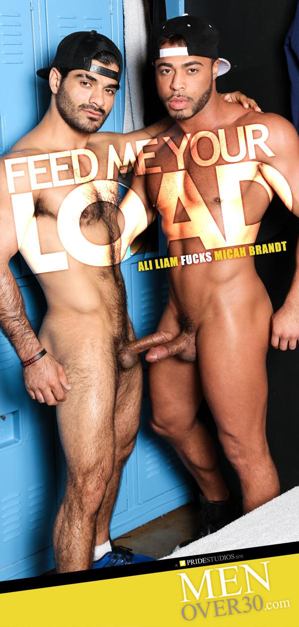Feed Me Your Load (Ali Liam Fucks Micah Brandt) at MenOver30.com