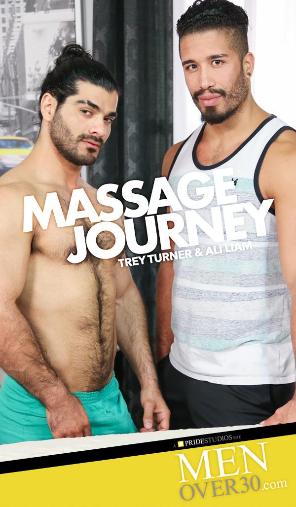 Massage Journey (Ali Liam Fucks Trey Turner) at MenOver30.com