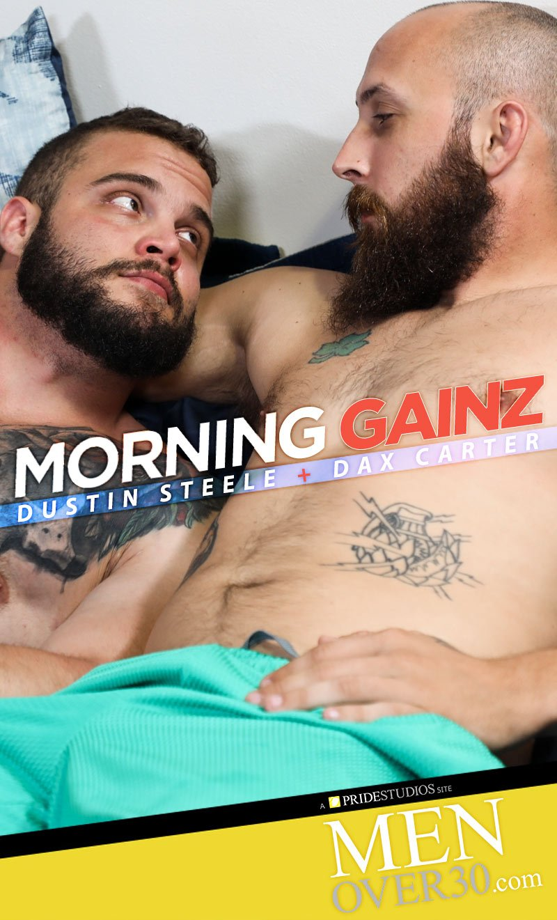 Morning Gains (Dustin Steele Fucks Daxx Carter) at MenOver30.com