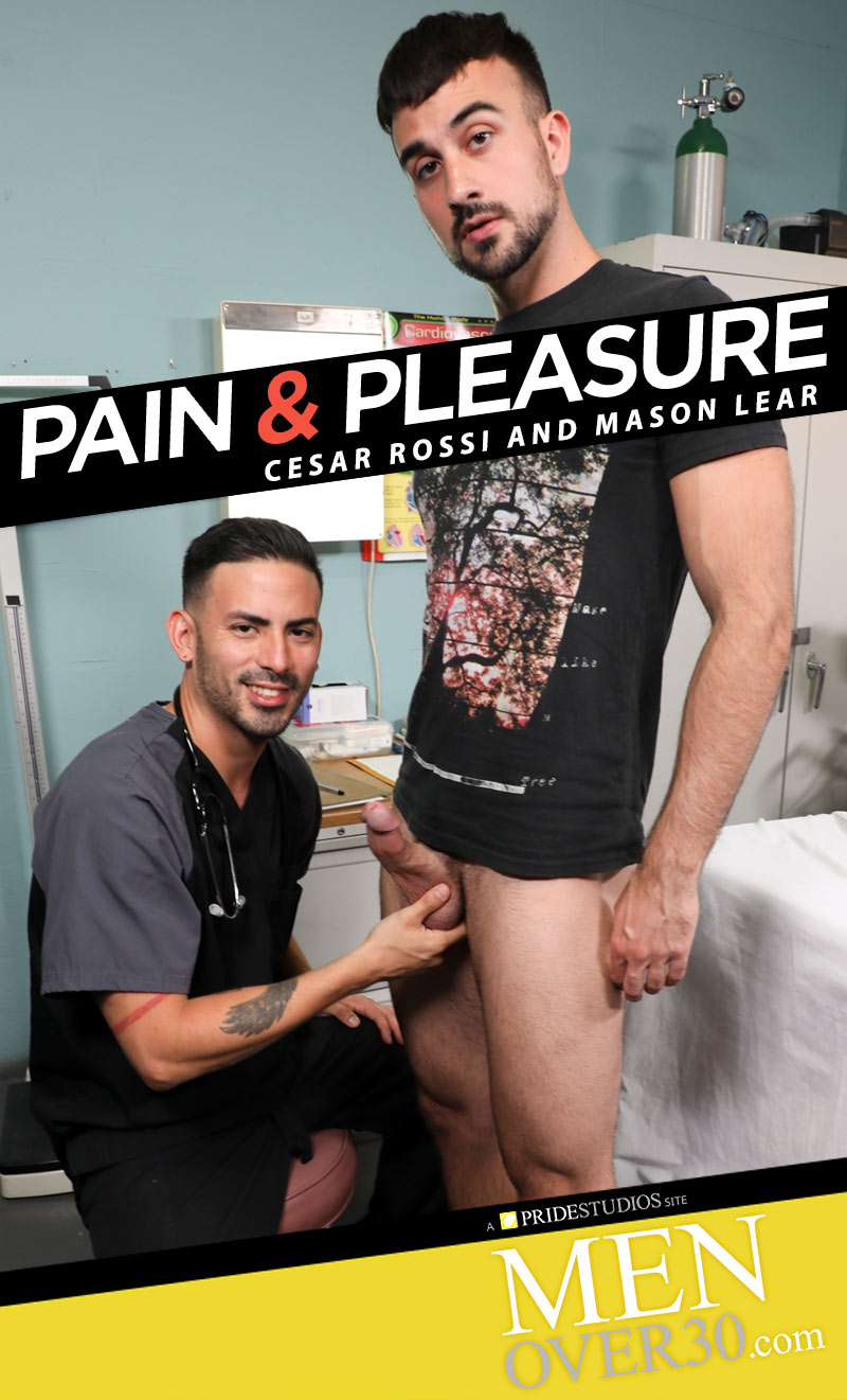 Pain & Pleasure (Cesar Rossi and Mason Lear Flip-Fuck) at MenOver30.com