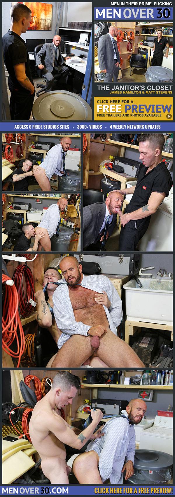 The Janitor's Closet (James Hamilton & Matt Stevens) at MenOver30