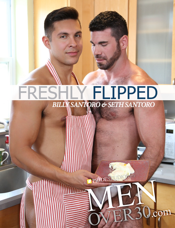 Freshly Flipped (Billy Santoro and Seth Santoro) at MenOver30