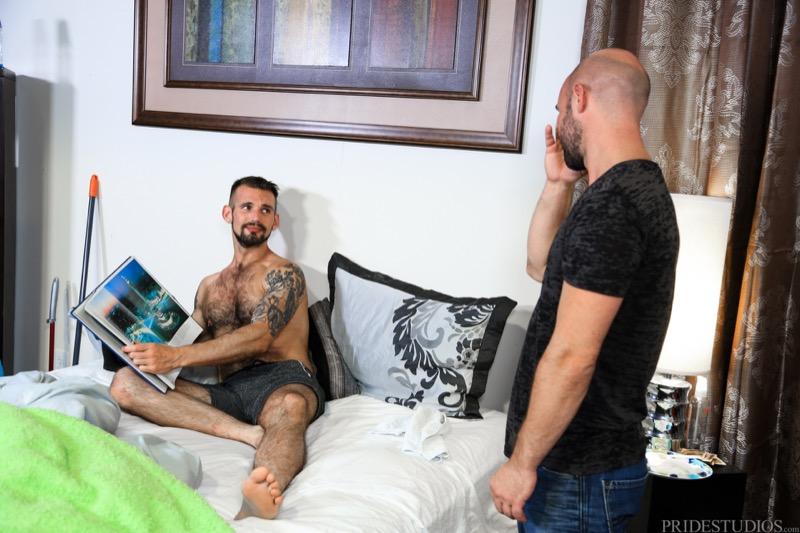What A Mess! (Lex Ryan Fucks Chris Harder) at MenOver30.com