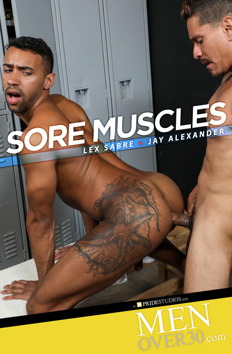 Sore Muscles (Lex Sabre Fucks Jay Alexander) at MenOver30.com