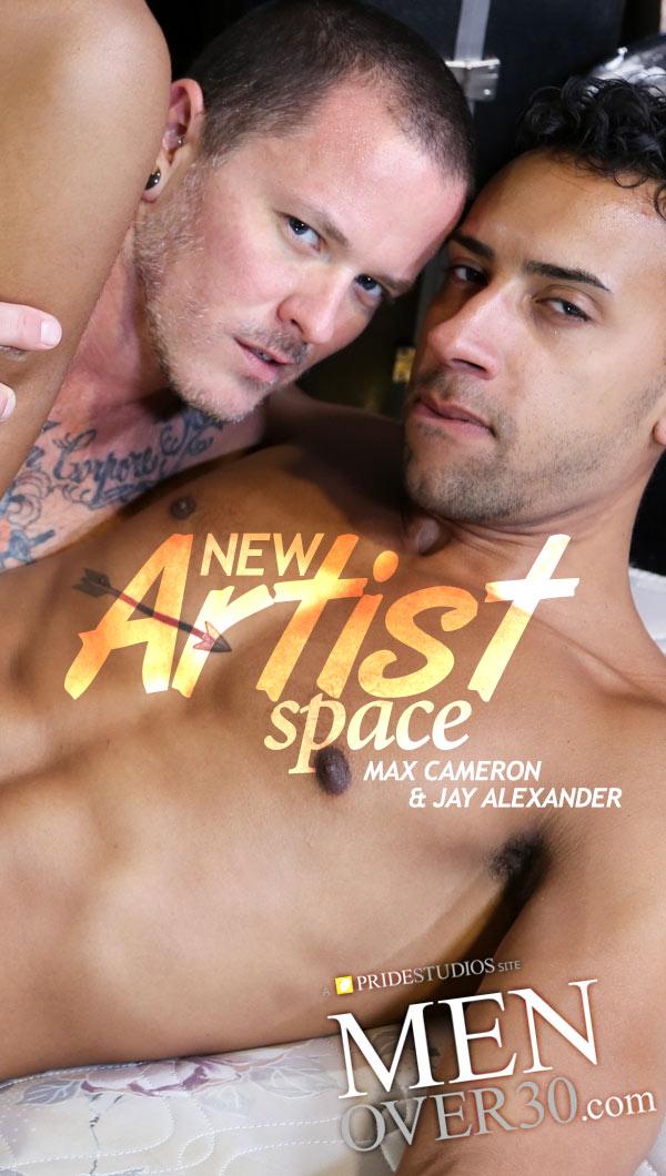 New Artist Space (Max Cameron Fucks Jay Alexander) at MenOver30.com