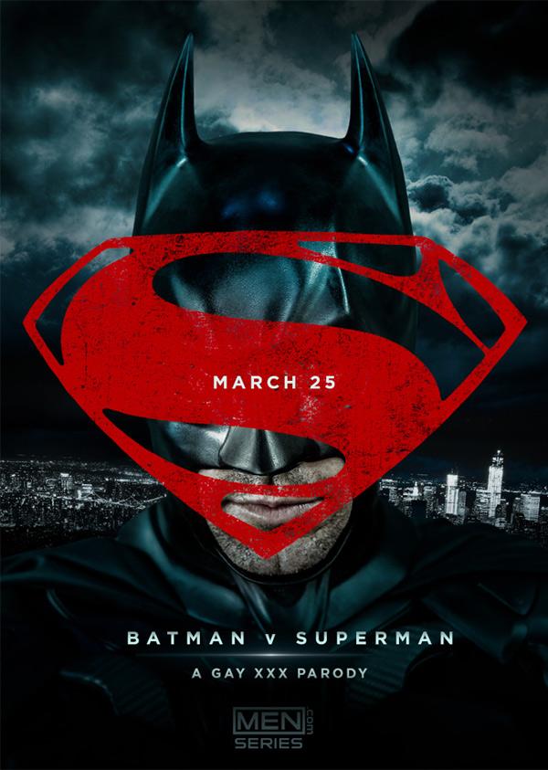 Batman v Superman (A Gay XXX Parody) from Men.com at Drill My Hole