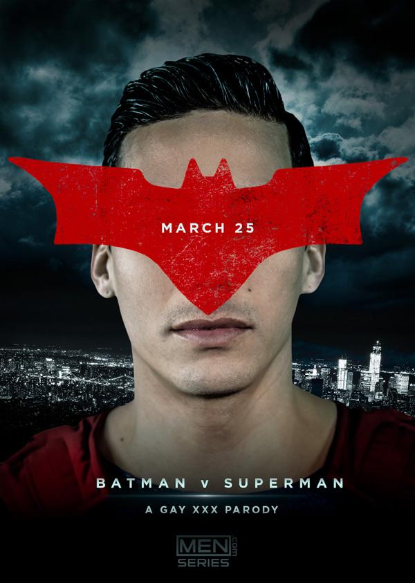 Coming Soon: Topher DiMaggio in 'Batman Vs Superman' at Men.com