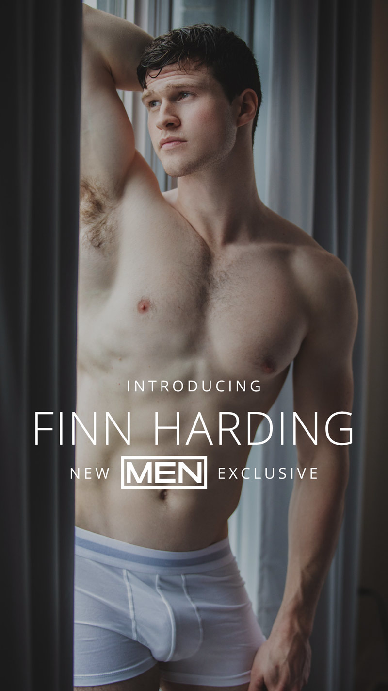 MEN.com Signs Exclusive Deal With Finn Harding