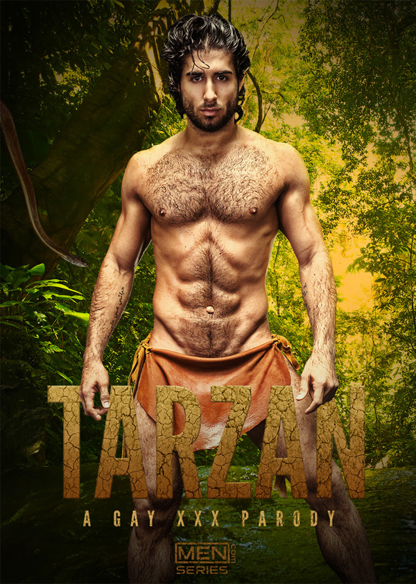 Diego Sans Stars in the Upcoming 'Tarzan: A Gay XXX Parody' at Men.com