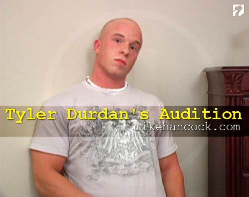 Tyler Durdan's Audition at MikeHancock