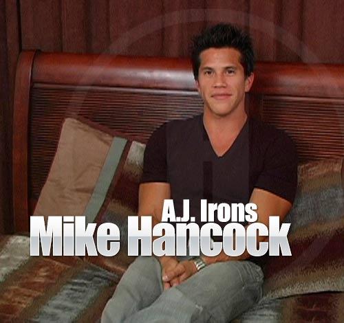 A.J. Irons at MikeHancock