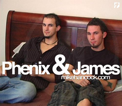 Phenix Fucks James at Mike Hancock