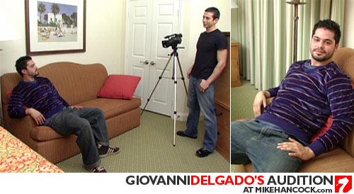 Giovanni Delgado's Audition at Mike Hancock