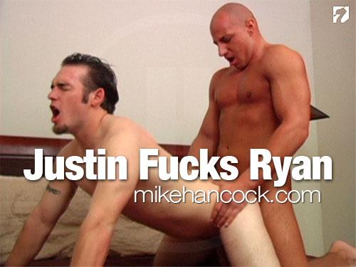 Justin Riddick Fucks Ryan Andrews at MikeHancock