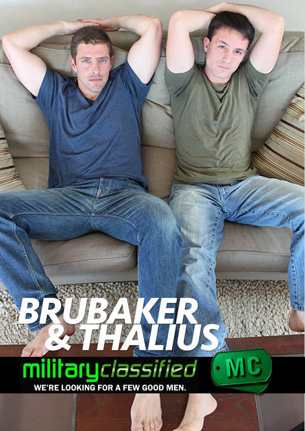 Brubaker & Thalius (Anal-Group) at MilitaryClassified