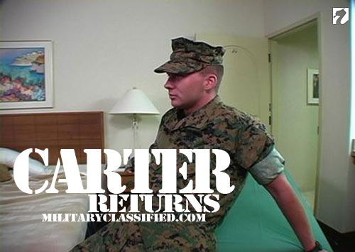 Carter Returns to MilitaryClassified