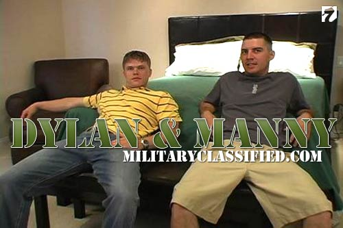 Dylan & Manny to MilitaryClassified