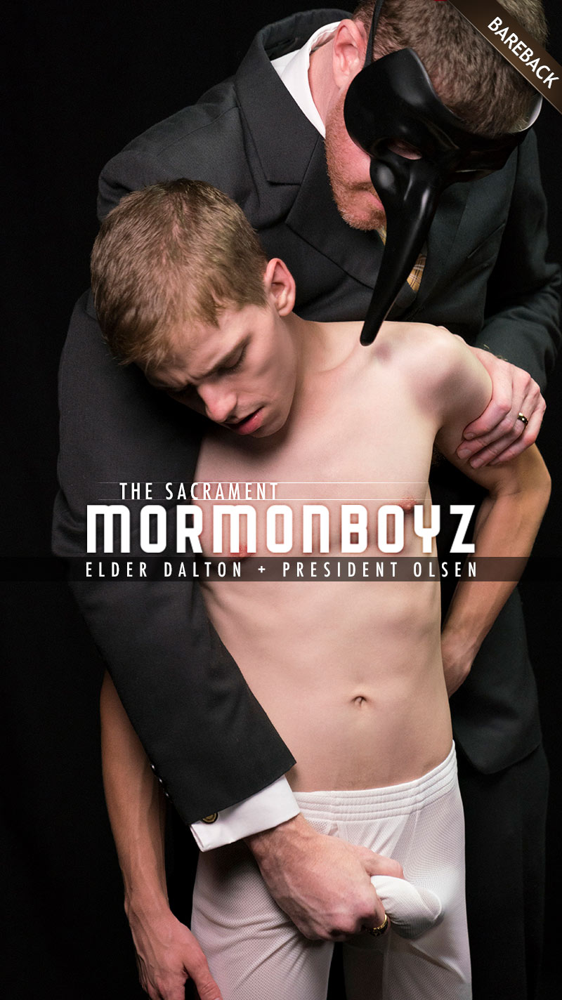 THE SACRAMENT: Elder Dalton (with President Olsen) at MormonBoyz.com