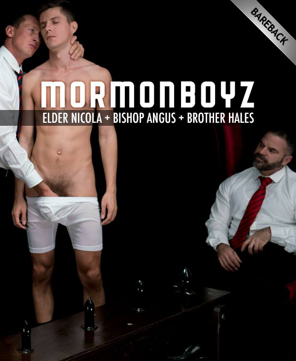 Elder Nicola: Atonement (with Bishop Angus & Brother Hales) at MormonBoyz.com