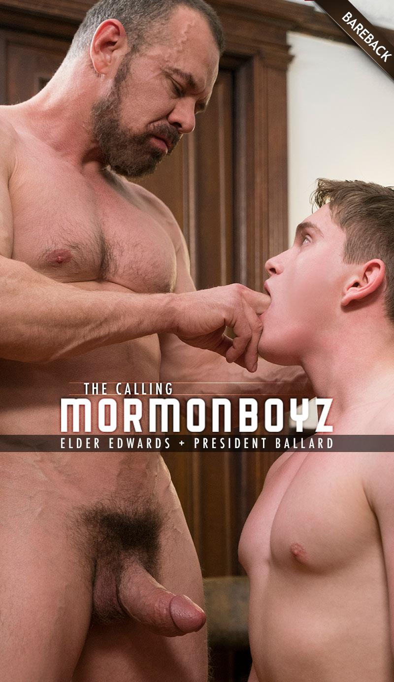 THE CALLING: Elder Edwards (with President Ballard) at MormonBoyz.com