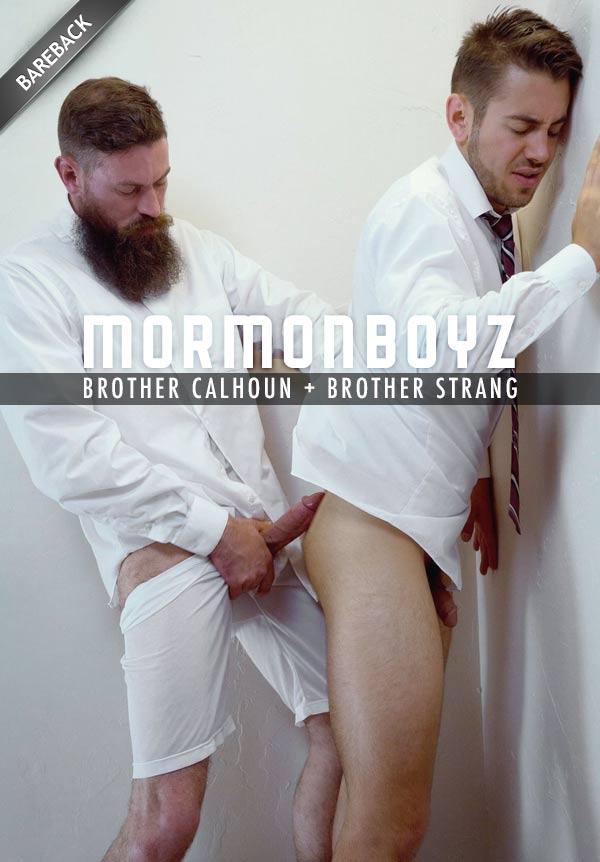 Brother Calhoun: Temple Violation (with Brother Strang) at MormonBoyz.com