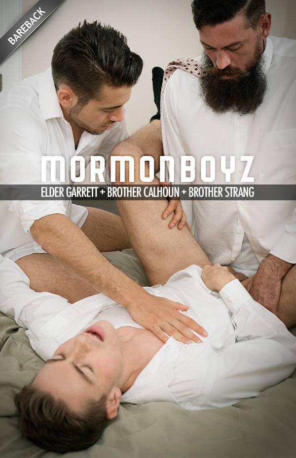 Brother's Oath (Elder Garrett, Brother Calhoun & Brother Strang) (Bareback) at MormonBoyz.com