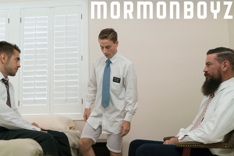 Brother's Oath (Elder Garrett, Brother Calhoun & Brother Strang) (Bareback) at MormonBoyz.com