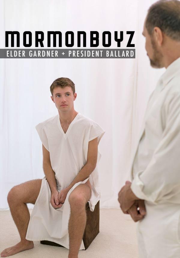 Initiation: Elder Gardner & President Ballard at MormonBoyz.com