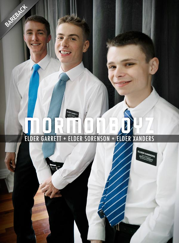 District Meeting (Elder Garrett, Elder Sorenson & Elder Xanders) at MormonBoyz.com