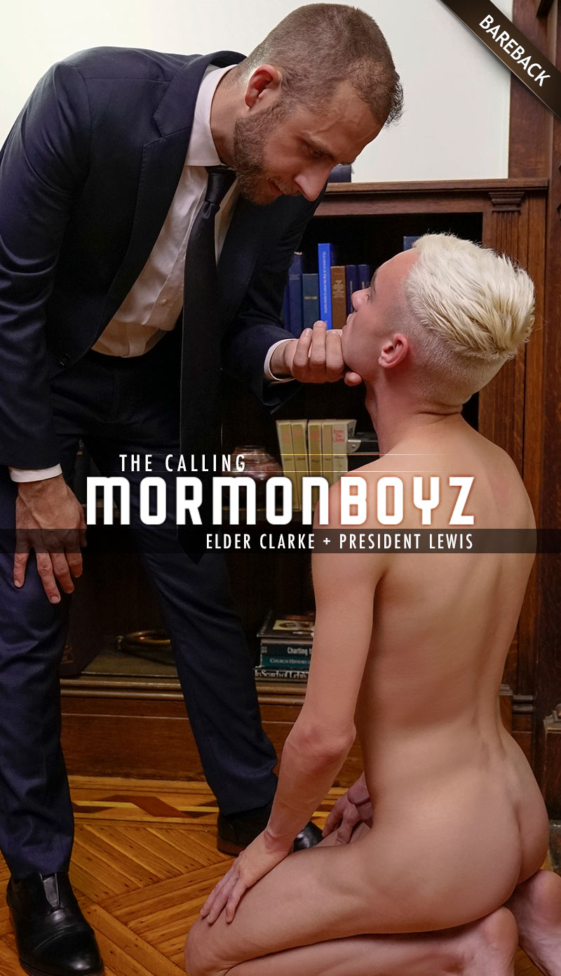 THE CALLING: Elder Clarke (with President Lewis a.k.a. Joel Someone)  at MormonBoyz.com