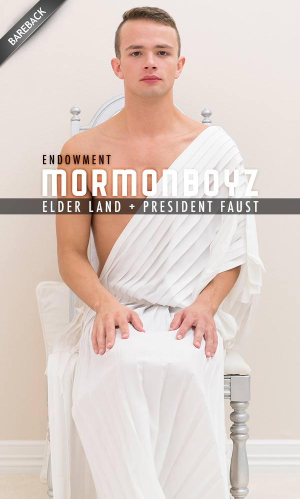 Endowment: Elder Land (with President Faust) at MormonBoyz.com
