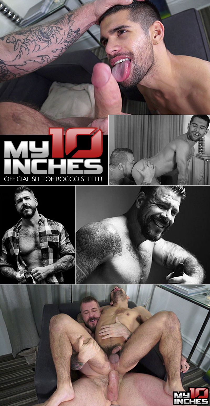 Rocco Steele Fucks Ty Mitchell (Bareback) at My 10 Inches